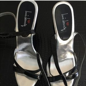 Luichiny unique black sandals